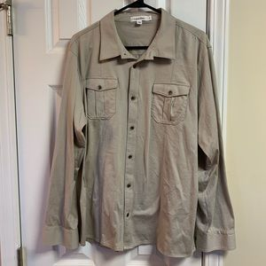 Calvin Klein double pocket button down shirt